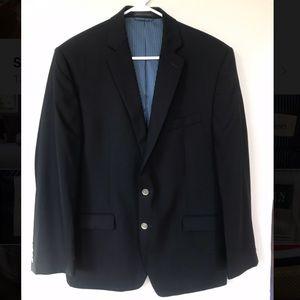 Black Calvin Klein Sport Coat 42R